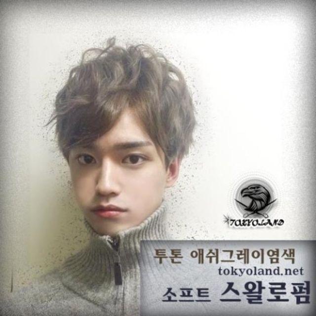 헤어스타일♡♡(nan926)님의 스타일 | 남자머리-투톤 애쉬그레이 ...